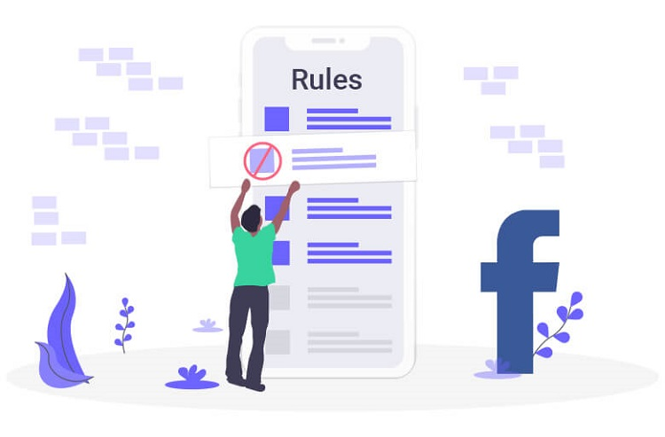 Fine for Facebook breaking rules