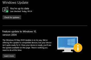 Microsoft blocked Windows 10 update on some devices