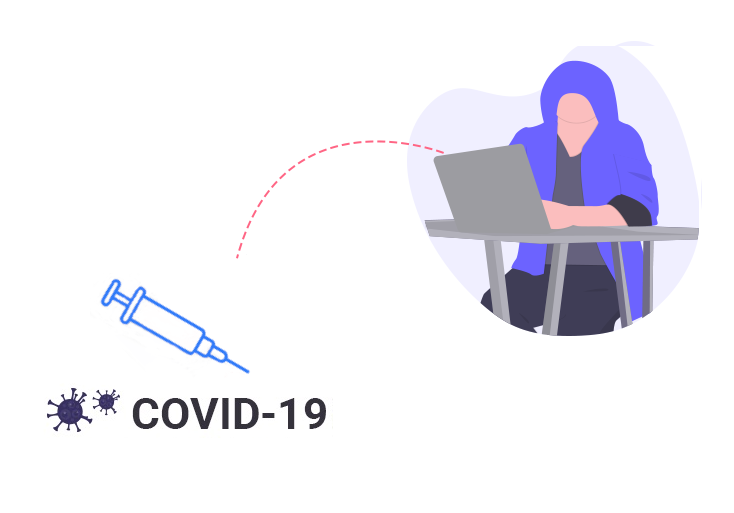 Hacker trying to compromise the Covid-19 vaccine distribution