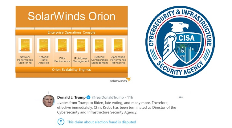 CISA Solar Winds Trump