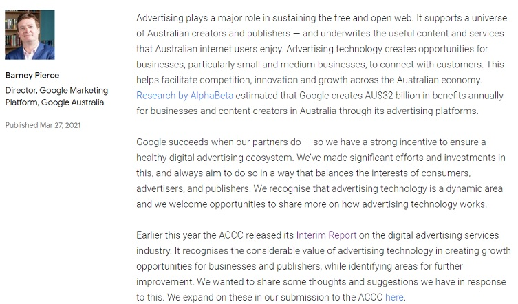 Google to change ad rules